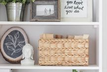 Shelf decoration