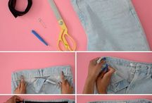 DIY clothing and hacks