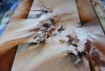 Démo peinture realiste et abstraite