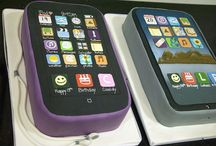 Ipod Cake / by Fancy Fondant Cakes by Emily Lindley