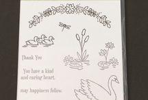 swan lake stamp set