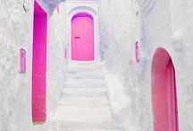 Colors of Greece / Pink