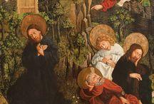 Wielkanoc // Easter / W tej galerii prezentujemy dzieła, które układają się w opowieść o ostatnich chwilach życia Jezusa Chrystusa - od pojmania w Ogrojcu, przez mękę, aż do śmierci na krzyżu // In this gallery we present works that make up a story about the last moments of the life of Jesus Christ - from capture in Gethsemane, the Passion, until his death on the cross.