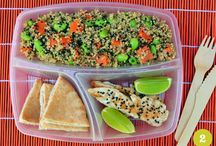 Lunch Ideas / I'm always searching for new and exciting ideas for packed lunches!