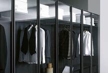 Ankleide, dressing room / Lerne Ordnung, liebe sie... Ideen für unser Ankleidezimmer in spe.