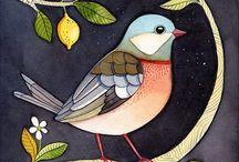 Wzory ptaki