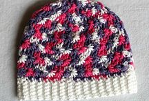 NEW BORN CROCHET BABY HATS