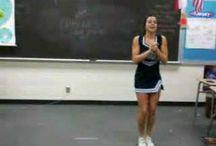 cheerleading / by Teone Taft