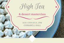 raw high tea event