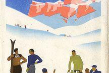 Ski poster
