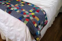 Quilting - curvy pointy designs - double wedding ring - pickle dish - NY beauty / by Becky Kercado