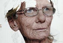 pintura / modern painting / by Rai Leon