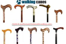 Fashionable walking canes