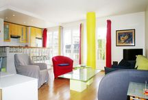 Large Airy Studio Near Eiffel Tower That Sleeps 4 / This apartment is located in the district of BeauGrenelle in the 15th arrondissement of Paris. It is 10 minutes walk to the Eiffel Tower and 5 minutes to the Seine.
