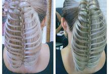 penteados que eu fiz