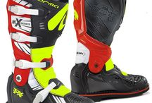 Motocross Boots / Need a pair of riding boots. We carry a great selection of boots from brands like Sidi, Forma and Fox.