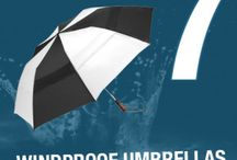 Singing in the Rain: Windproof umbrellas for ladies / A look at umbrellas of all shapes, sizes and colours to used on a rainy day. I love umbrellas which are fun and fashionable but still practical