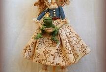 dolls  bonecas / mto encanto e mta criatividades / by Sandra Simplicio