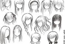 hair desenho