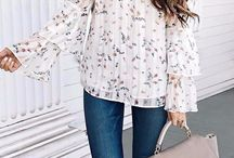 SHOULDER TOPS / Take a peek at these trendy cold shoulder and off the shoulder tops. Dress them up or dress them down, they can be worn for any occasion.