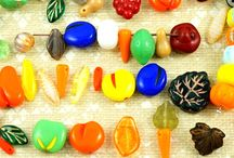 Autumn/Fall Harvest and Thanksgiving Day Czech Glass Beads & Patina Charms