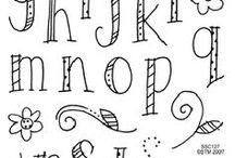 Schrift und Doodles ♥️
