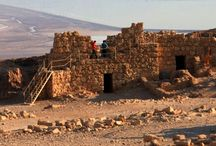 Masada / The Jewish fortress under seige and finally entered by the Roman general Silva in 73 A.D.