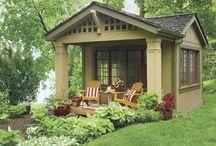 Garden areas tranquility