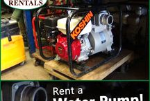 Pumps / Need water moving to a different location??? Ark Rentals has the pumps and hose to get the job done right! Call: 570-366-1071 for Prices & Details! Email: Info@arkrentals.com