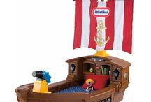 Bennys Pirate/Nautical themed room ideas / by Jen Kay
