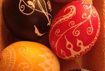 Easter eggs/ Húsvéti tojások / Saját készítésű és nekem tetsző húsvéti tojások.