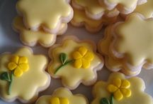 Cookies: Flowers/Butterfly's
