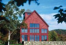 Barn Home Living / Dreaming of living in a barn home? Check out our favorite barn style homes and products!