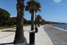 Il lungomare / La nuova passeggiata sul lungomare del Sant'Elia.