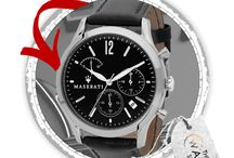 MASERATI HODINKY / Luxusní hodinky od MASERATI