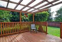 roofing ideas for deck