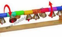 Instrumentos musicales para niños / Instrumentos musicales adaptados para el uso educativo en los niños