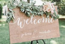 Wedding Style- Signs / Inpiration for wedding day signs
