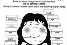 FRENCH WORK SHEETS
