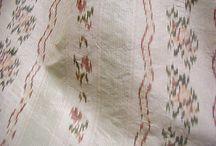 18th century ikat aka chiné dresses