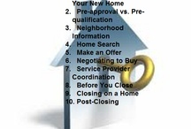 How to Start to buy a Home / Buying a home can be an exciting, but it can also feel it's an intimidating process. If you are a first-time homebuyer, terms like mortgage insurance, offers, counter offer, contracts, disclosures and escrow can be enough to make you reconsider the upside of apartment living. However, with a little preparation and experienced professionals at your side, you can glide through the steps of buying a home with confidence. / by Yolie Arias-Horn