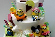minions brthdy cakes