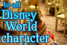 Disney World Character Meals / A guide to Walt Disney World Character meals including the best from http://www.modernlifiesgood.com From Mickey to Pooh where you can meet your favourite