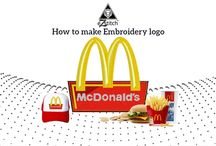 embroidery logo desgin / Very nice concept for embroidery lovers.