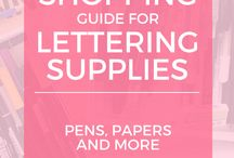 lettering idea