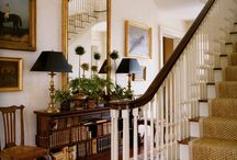 Staircase/ hallways