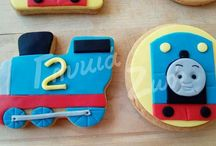 My cookies / sugarpaste cookies
