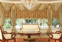 Luxurious Custom Drapery  / Our designs and custom made luxury drapes.