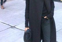 Black on black / Black always en vogue!