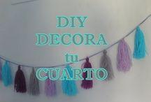 Manualidades con lana // Crafts with yarn / ¡Porque la lana no es sólo para tejer! // Yarn is not only for knitting!!